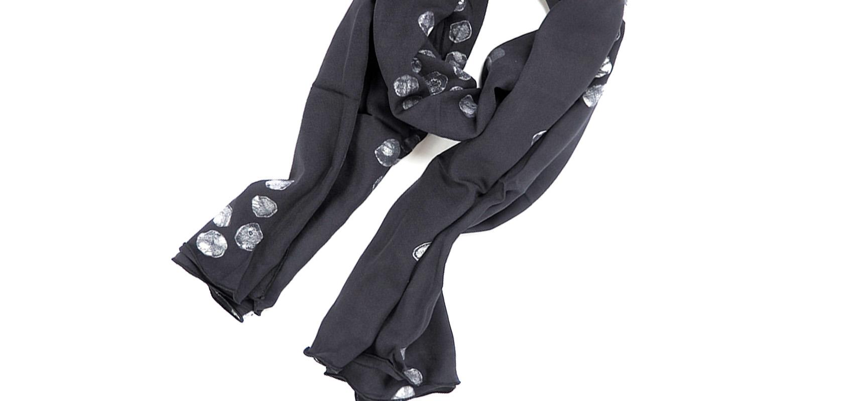 della ghana batik scarf