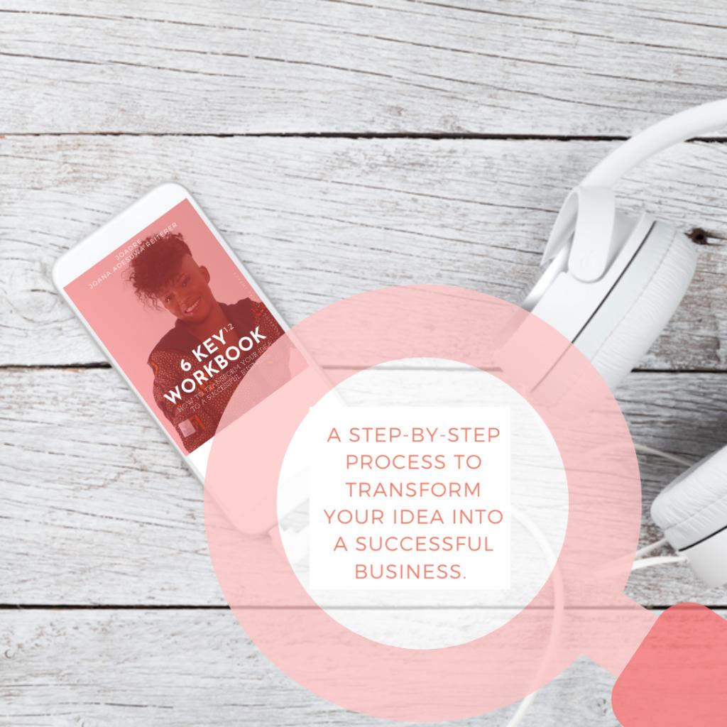 Joadre 6 key business training program
