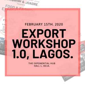 joadre afriexporter workshop african product to europe