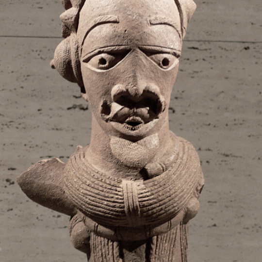 NOK culture and their sculptures